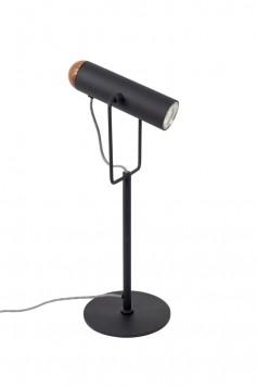 Zuiver Marlon Tafellamp Ijzer/Walnoot 20