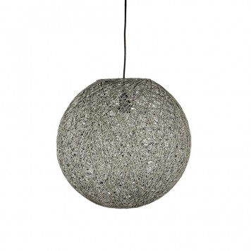 LABEL51 Twist Hanglamp Grijs 60 x 60 cm - XL