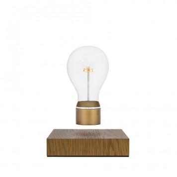 FLYTE Royal 2.1 Zwevende Tafellamp Eiken - Goud
