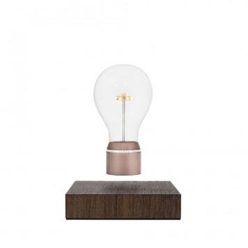 FLYTE Buckminster 2.1 Zwevende Tafellamp Walnoot - Koper